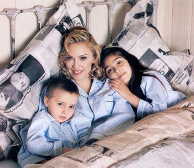 Мадонна фото ее детей